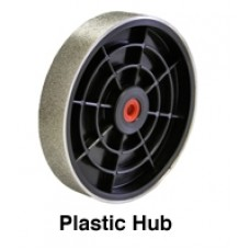 "Diamond Grinding Wheel 6 x 1.5"" plastic hub"