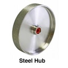 "Diamond Grinding Wheel 6 x 1.5"" steel hub"