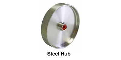 "Diamond Grinding Wheel 8 x 1.5"" steel hub"