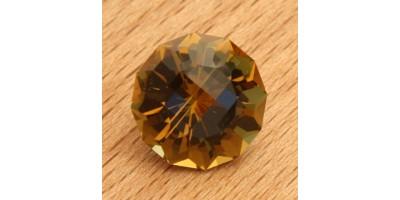 Cognac quartz 6.46 ct