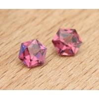 Rhodolite 1.69 ct, matched pair
