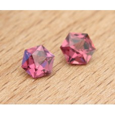 Rhodolite 1.69 ct, matched pair